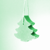50g French Christmas Soap - Green Tree