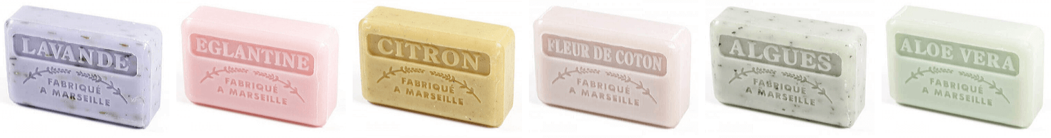 Authentic French Market Soaps