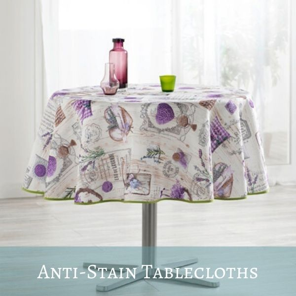 French Anti-stain Tablecloths