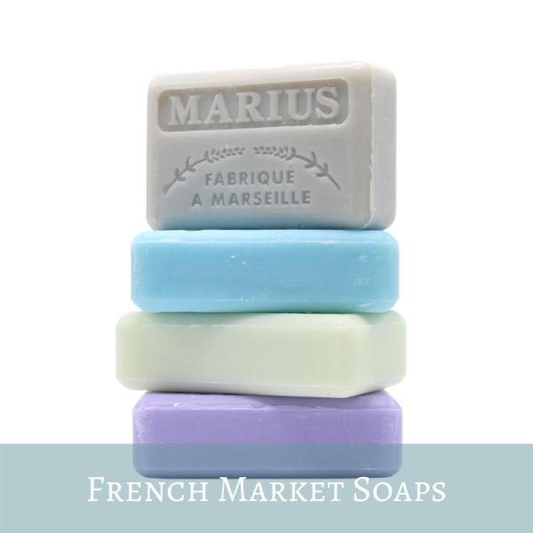 French Market Soaps Made in Marseille, Provence