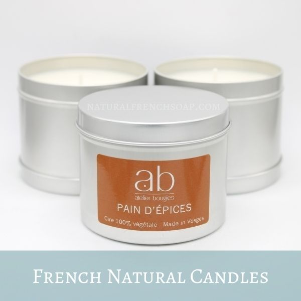 French Natural Candles
