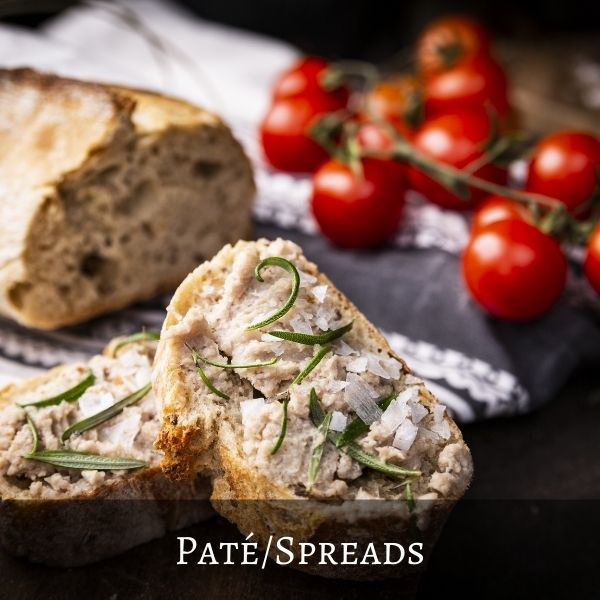 Pates and Spreads