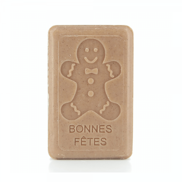 125g French Christmas Soap - Gingerbread