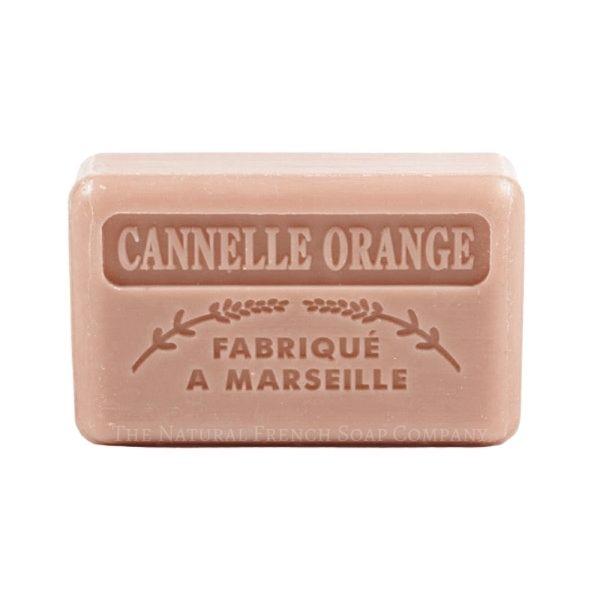 125g French Market Soap - Cinnamon Orange