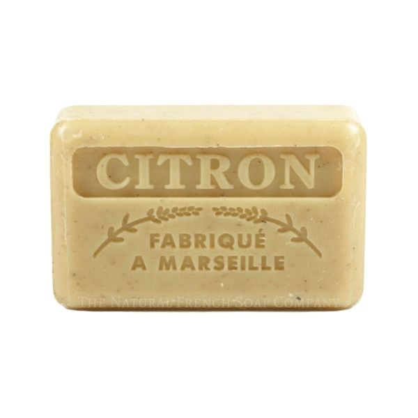 125g French Market Soap - Crushed Lemon
