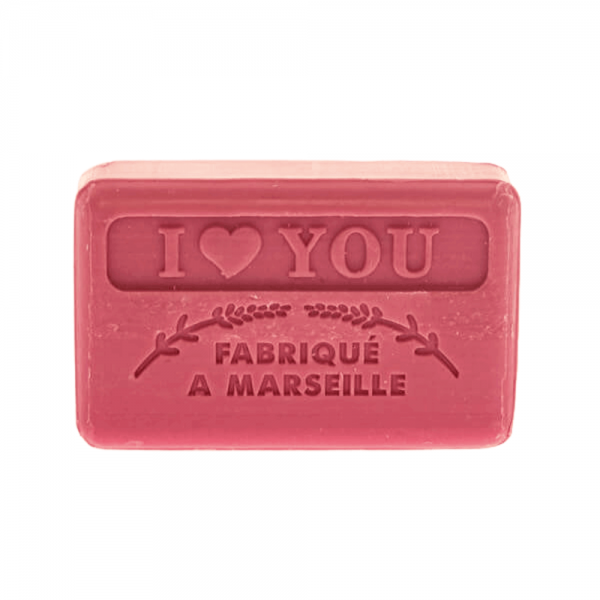 125g French Market Soap - I Love You