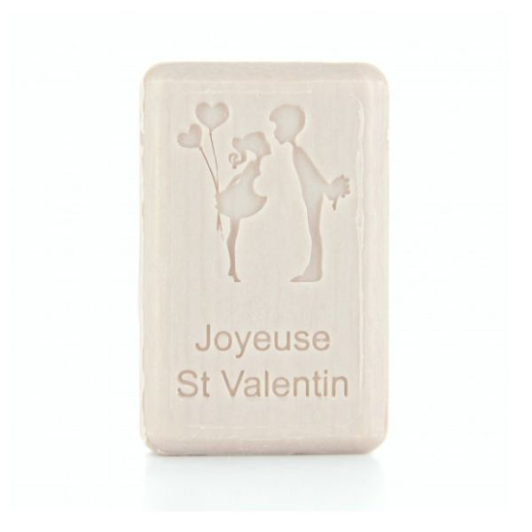 125g French Market Soap - St Valentine's Couple
