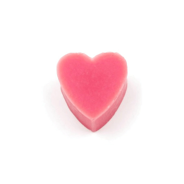 30g French Heart Soap - Water Melon Scented