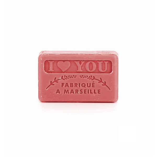 60g French Guest Soap - I Love You
