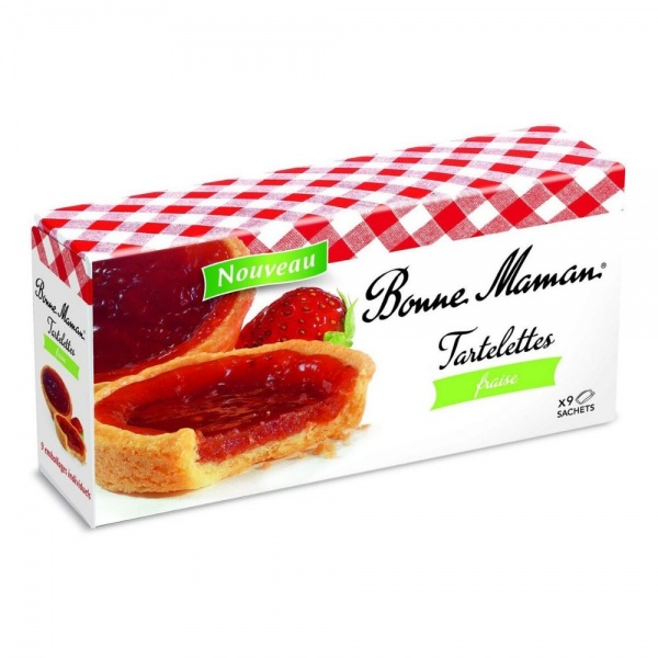 Bonne Maman Tartelettes Strawberry
