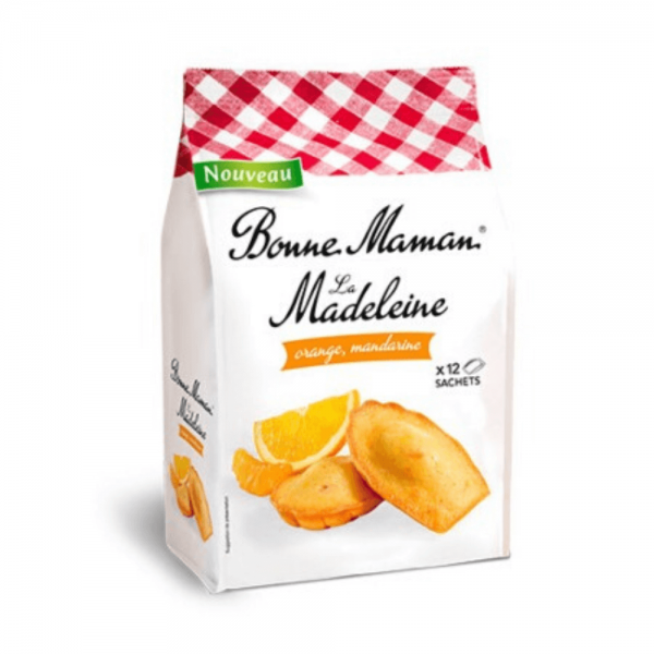 Bonne Maman Madeleine Orange & Mandarin