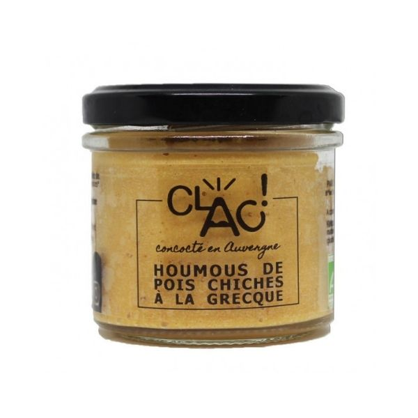 Clac Aperitif: Greek Chickpea Hummus