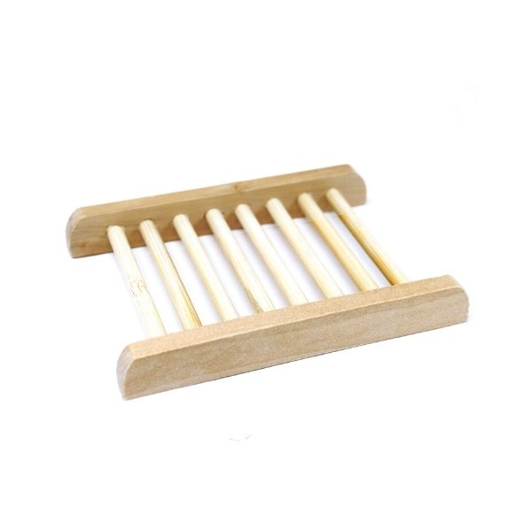 Platane Wood Soap Dish - Ladder