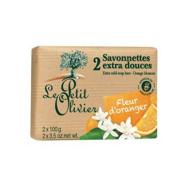 Le Petit Olivier Soap Bars - Orange Blossom