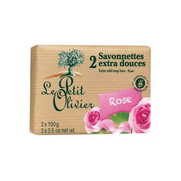 Le Petit Olivier Soap Bars - Rose
