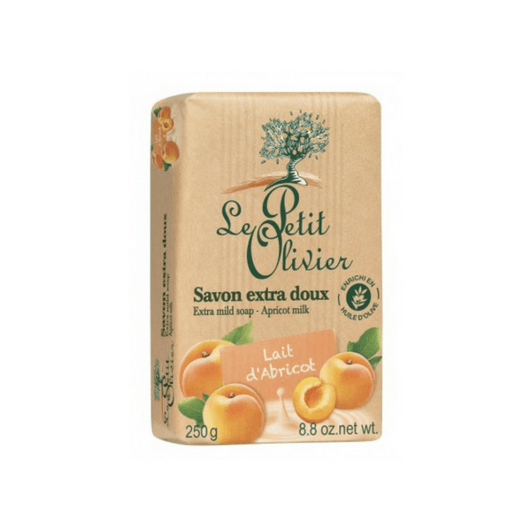 Le Petit Olivier Soap Bar - Apricot Milk