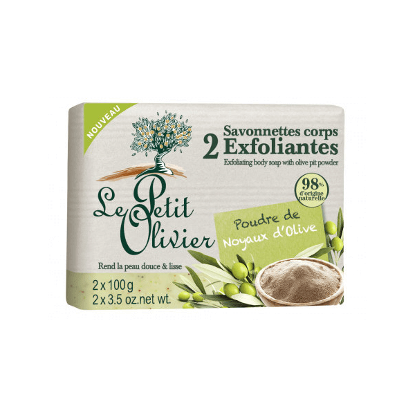 Le Petit Olivier Exfoliating Soap Bar - Olive