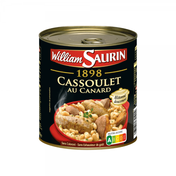 William Saurin Cassoulet au Canard
