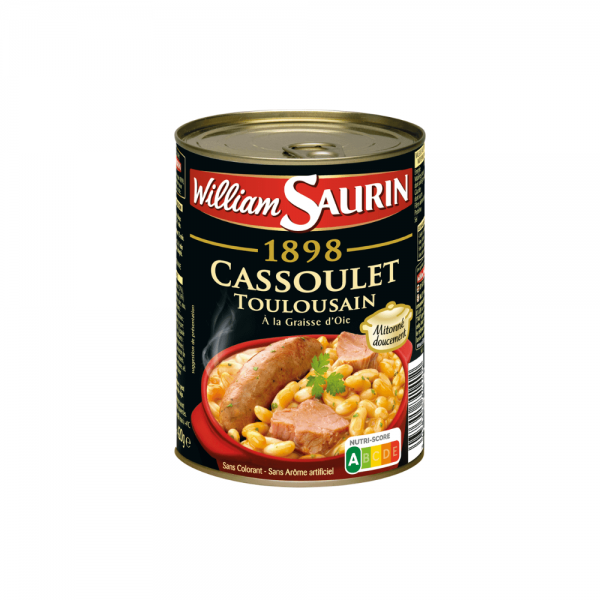 William Saurin Cassoulet Toulousain
