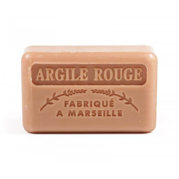 125g French Market Soap - Red Clay