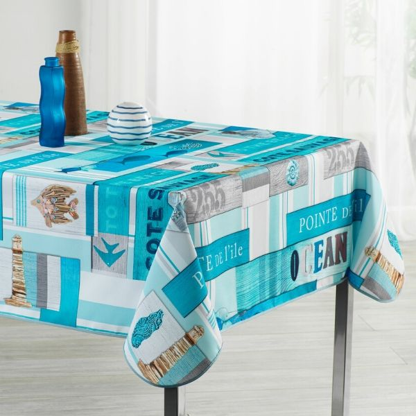 Stain Resistant Tablecloth - Cote Sauvage