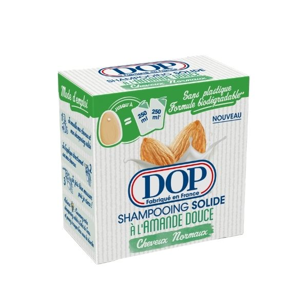 DOP Solid Shampoo: Almond For Normal Hair