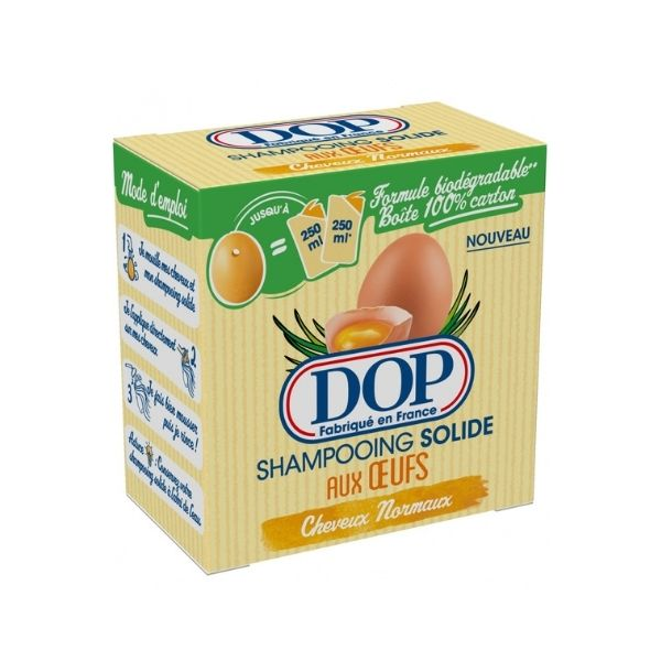 DOP Solid Shampoo: Eggs For Normal Hair