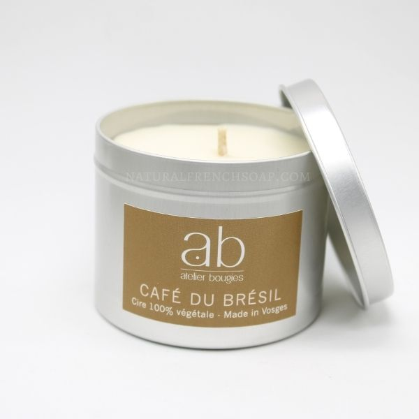 Coffee Natural Candle In A Tin