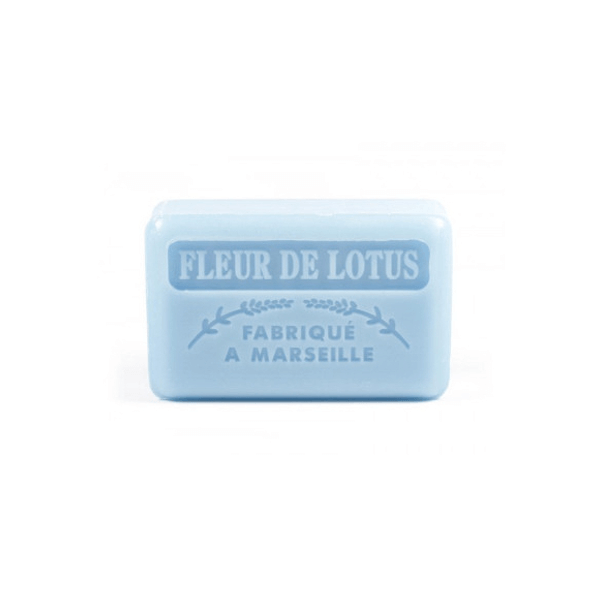 60g French Guest Soap - Lotus Flower