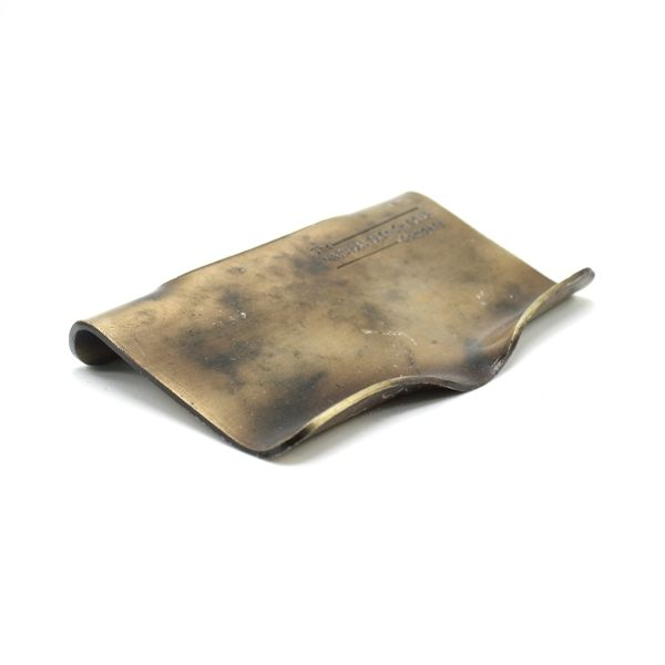 Metal Self-Cleaning Soap Dish - Vintage Bronze