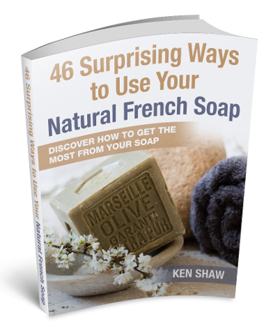 46 surprising ways to use your natural French soap eBook