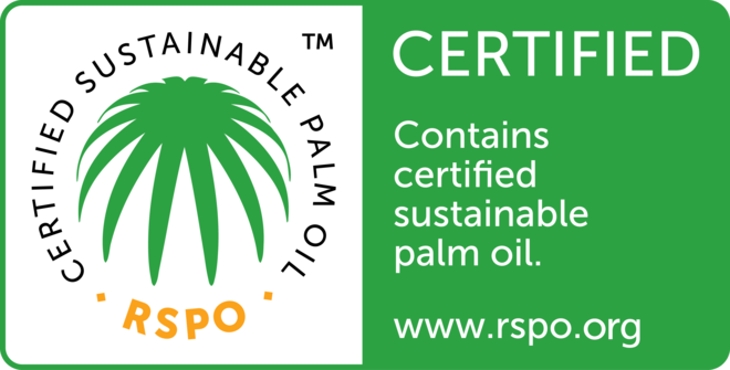 RSPO Sustainable Palm Oil Label