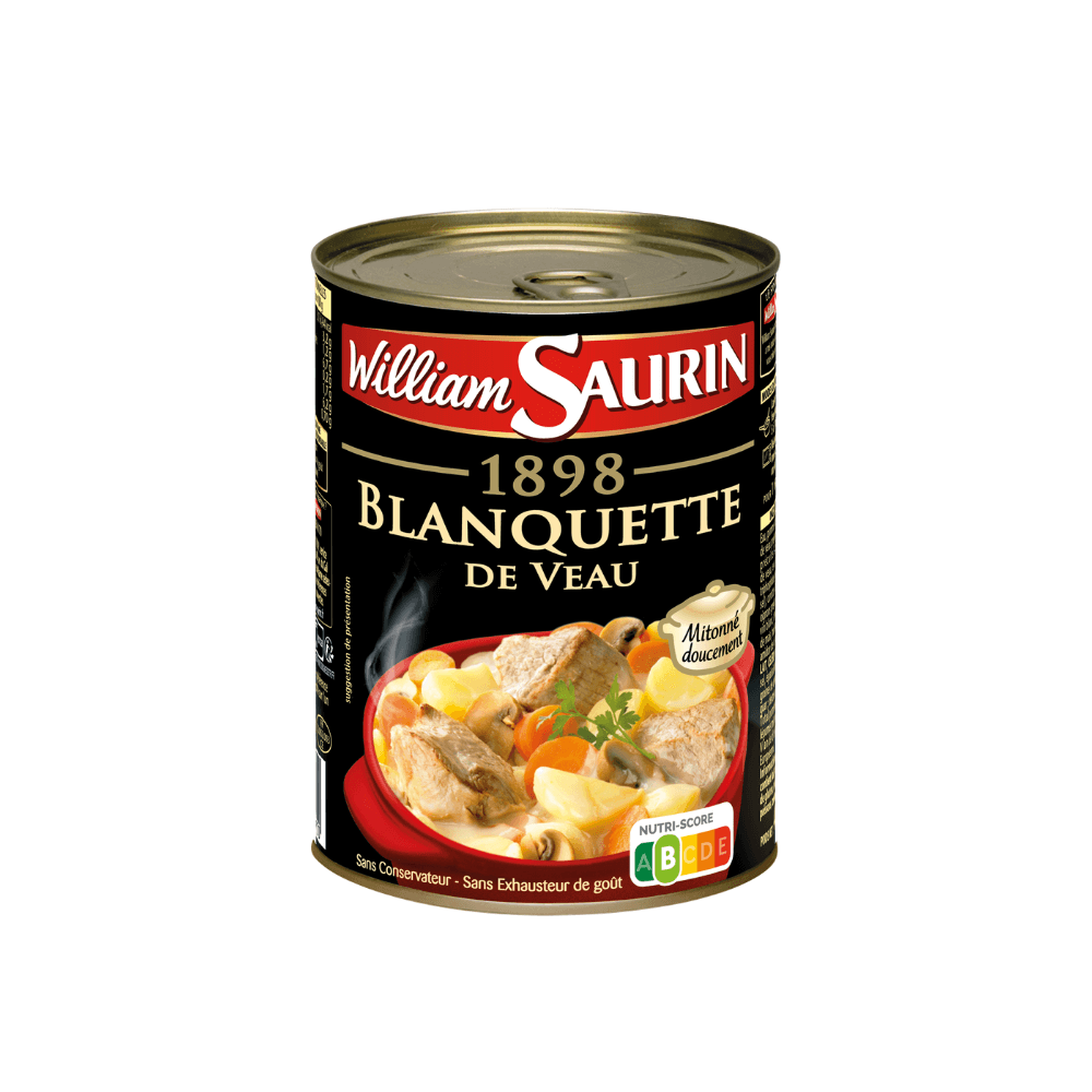 William Saurin Blanquette de Veau