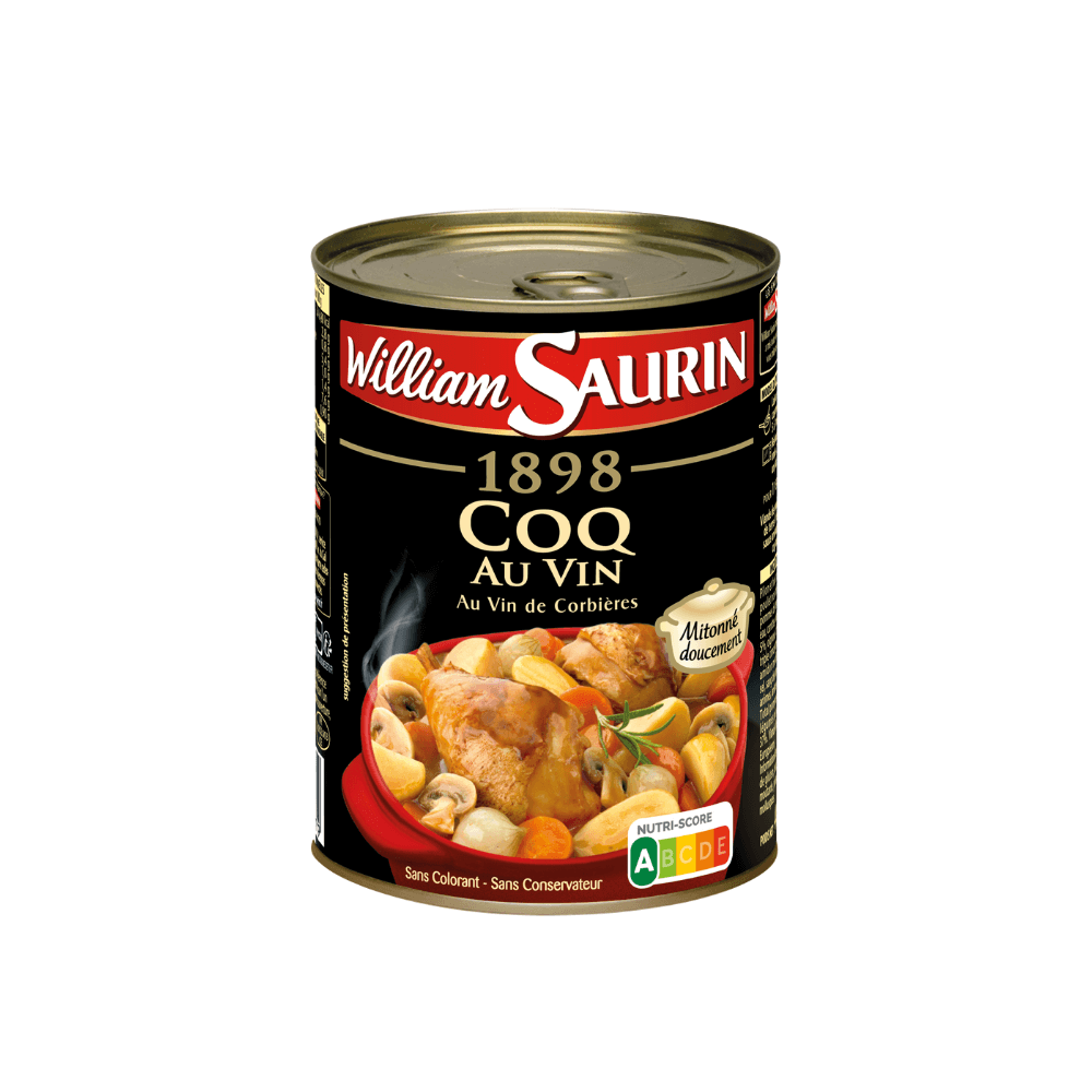 William Saurin Coq au Vin