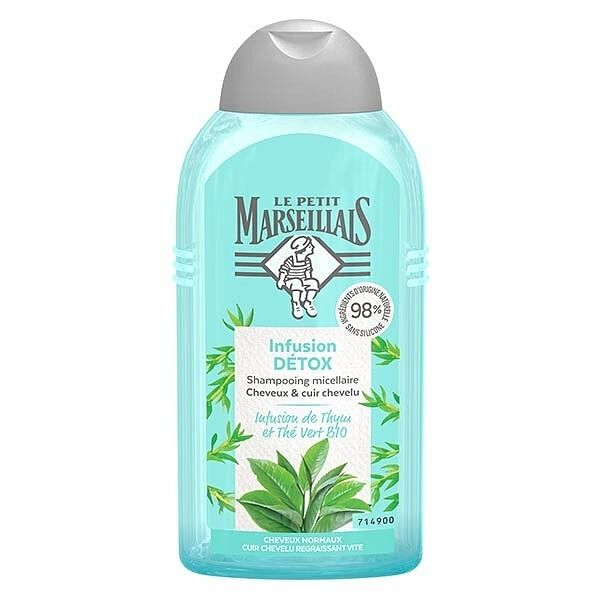 Le Petit Marseillais Shampoo Normal Hair Detox 250ml
