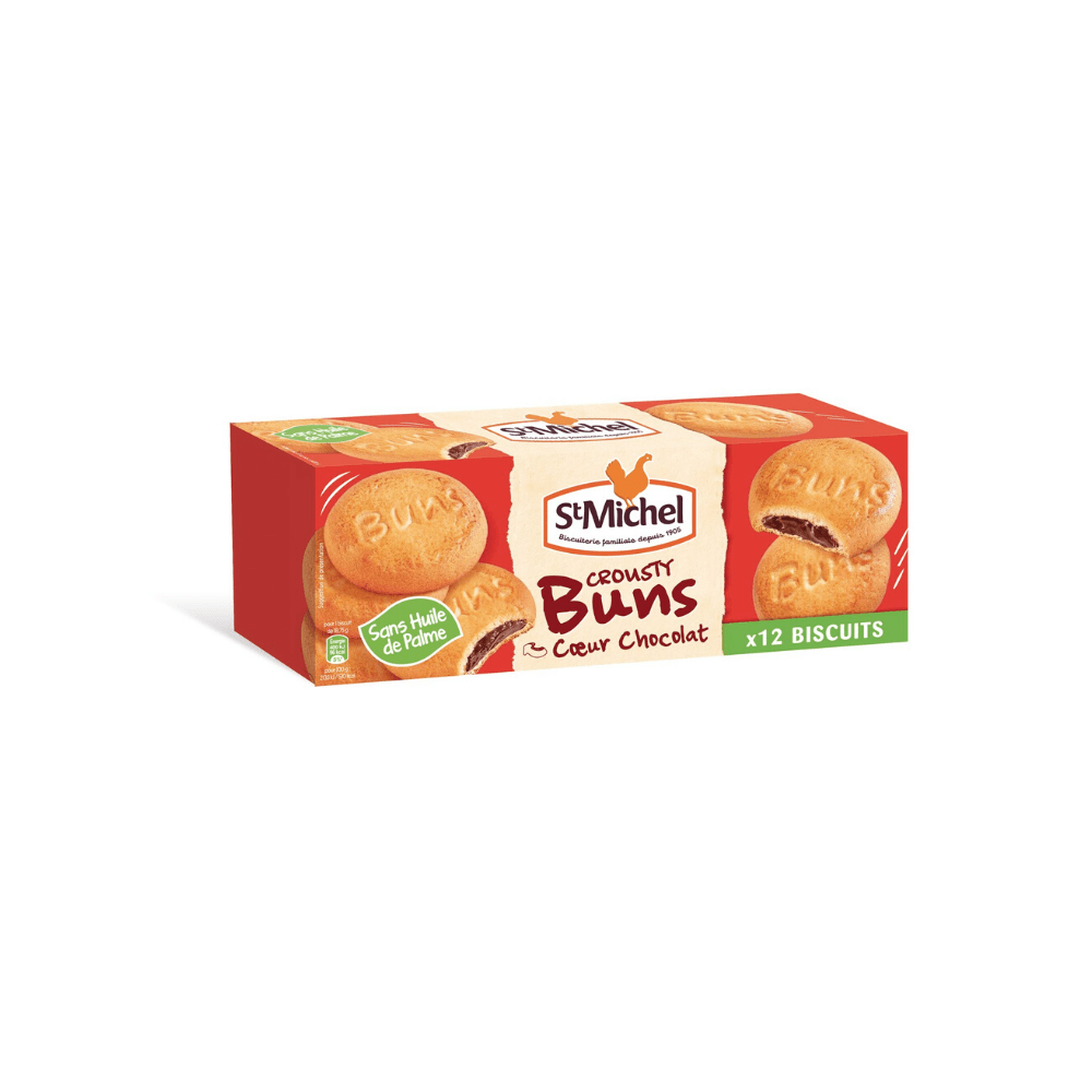 St Michel Crousty Chocolate filled Biscuits