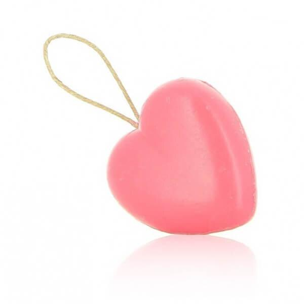95g Large Heart Soap on a Rope - I Love You