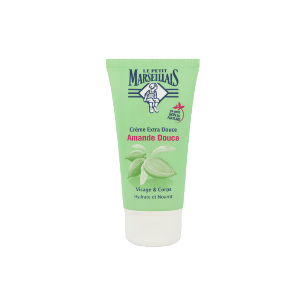 Le Petit Marseillais Face and Body Cream - Sweet Almond