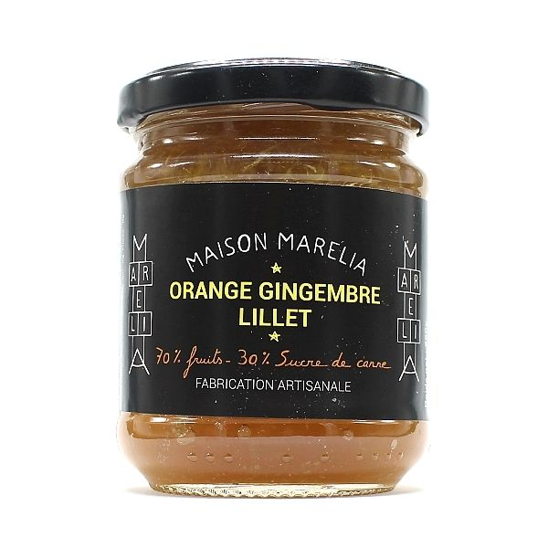 Maison Marelia Confiture: Orange, Ginger & Lillet Wine