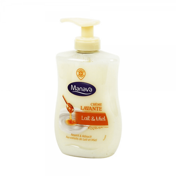Manava Liquid Soap - Vegetal Milk and Honey